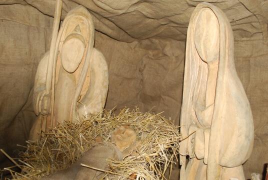 Betlémské světlo ve Vimperku